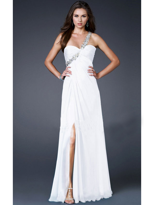 4f9b40b60b női ruha webshop | különleges félvállas menyasszonyi ruha | Axadion ...