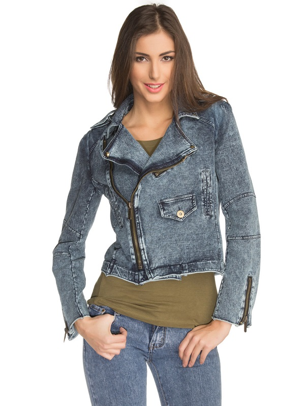 Női farmer dzsekik, farmer kabátok   Léna Divat