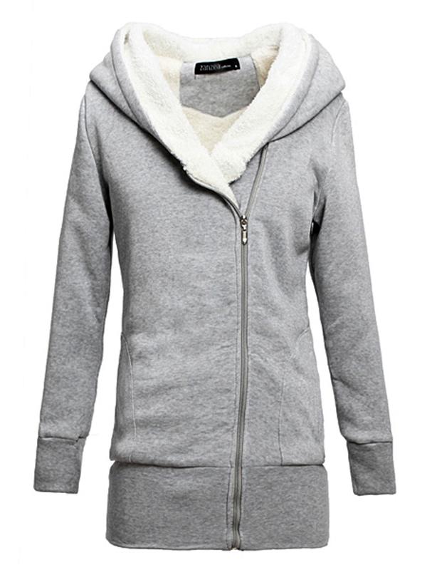 divatos kapucnis női pulóver af86d38fca