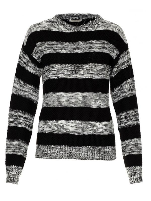 8e1751a8bb női pulóver webshop | csíkos kötött pulóver | Axadion női divat ruha ...