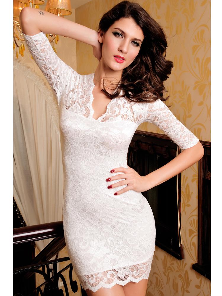 9ed1dd3f20 ruha webshop   n   csipke alkalmi koktélruha rendelés   fehér