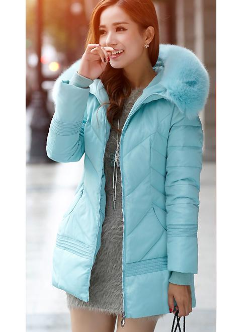 ... női télikabát övvel divatos ... 0cc602ff17