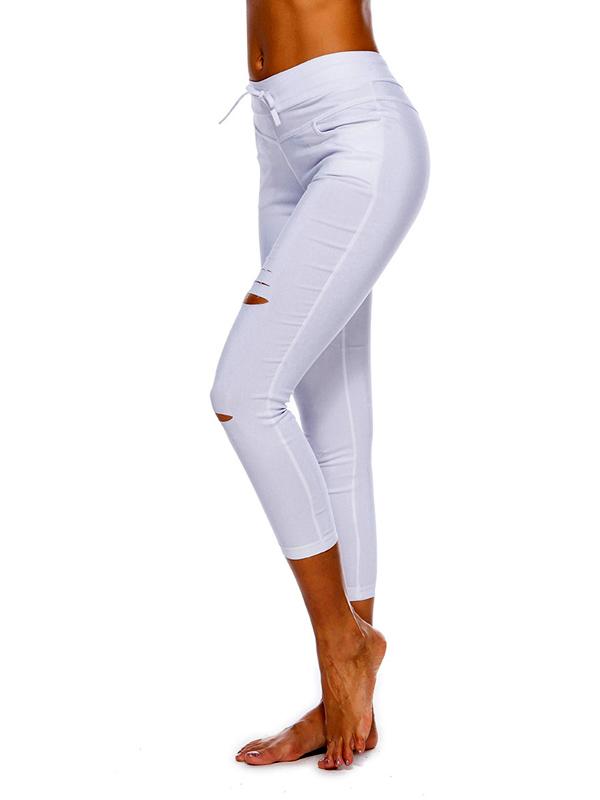 női nadrág webshop | szaggatott sztreccs skinny nadrág