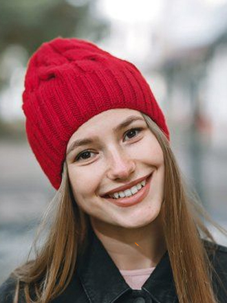 piros meleg női sapka 5985d78218