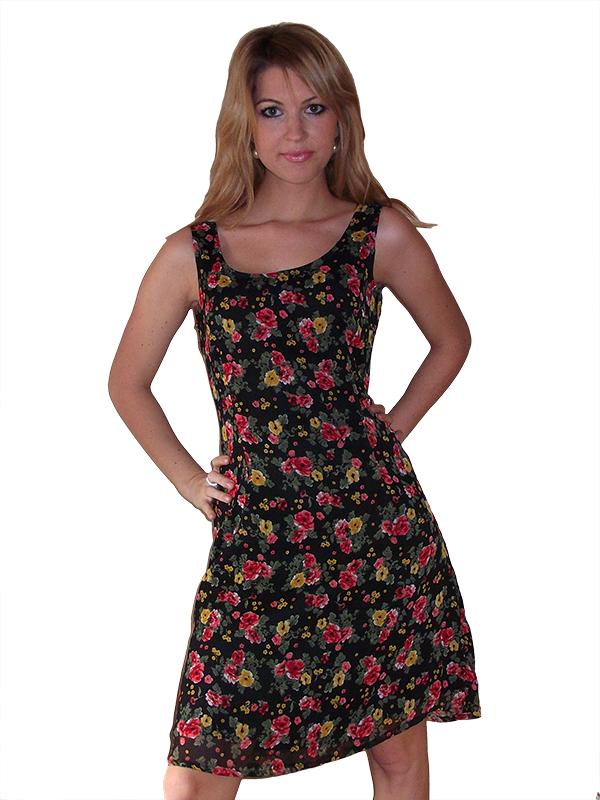 virág mintás nyári ruha 4b2643ca7f